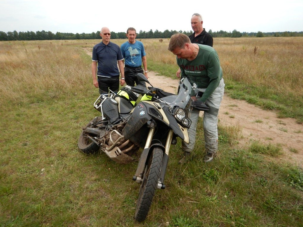 All-Road training Gebben Motoren