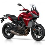 Yamaha Tracer 700, Radical red, voor
