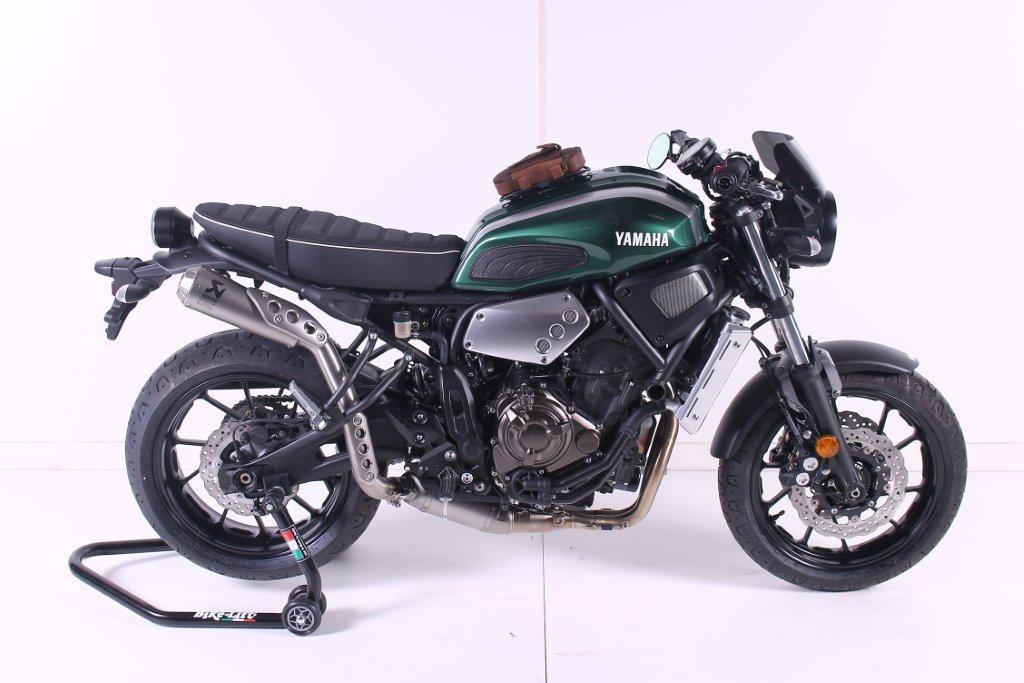 Yamaha XSR700 ABS vol accessoires, Najaarsshow 8 en 9 oktober Gebben Motoren