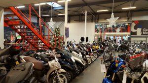 Showroom Gebben Motoren
