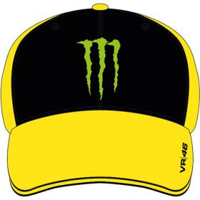 VR46 VALENTINO ROSSI CAP MONSTER ENERGY