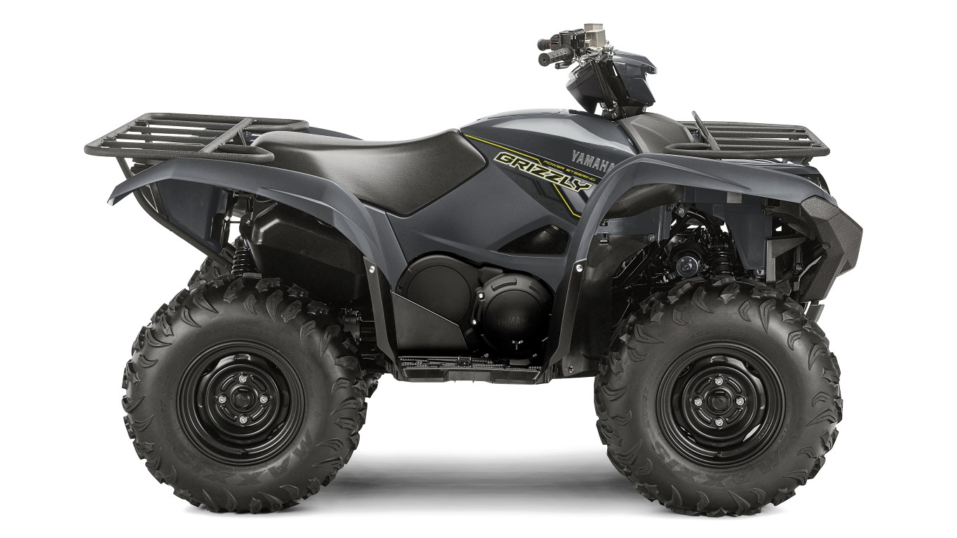 The world's toughest ATV, Grizzly 700