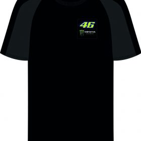 VR46 SHIRT ROSSI MONSTER ZWART
