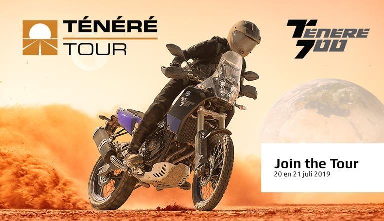 Yamaha Tenere 700 tour