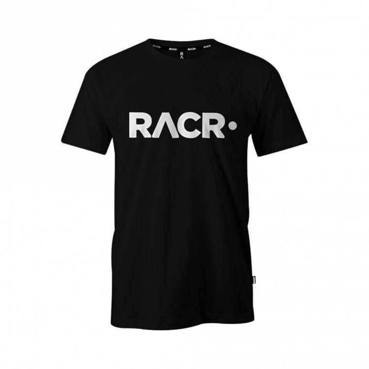 RACR T-SHIRT ZWART UNISEX