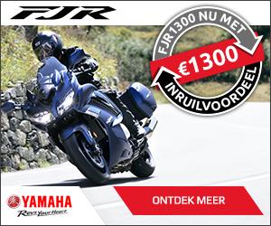 € 1.300,- extra inruilvoordeel bij aanschaf van een nieuwe Yamaha FJR1300