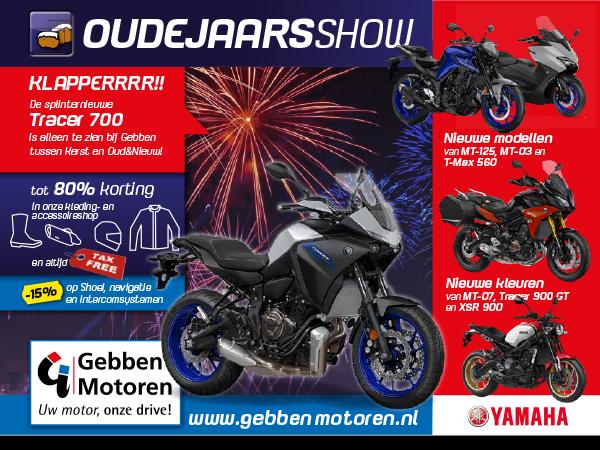 Oudejaarsshow 2019 Gebben Motoren