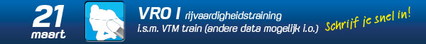 VRO1 Rijvaardigheidstraining 21 maart 2020 Gebben Motoren-VTM Train