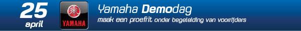 Demodag Yamaha 25 april 2020 Gebben Motoren