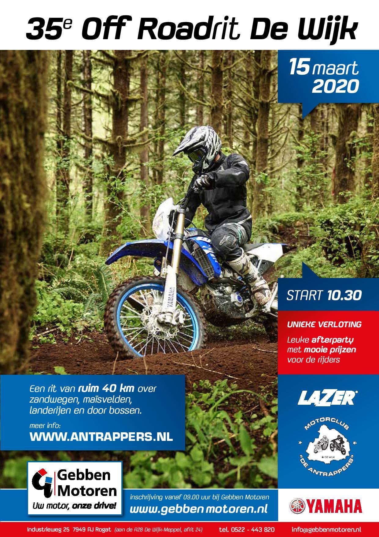 Off the Road 2020 De Wijk Gebben Motoren