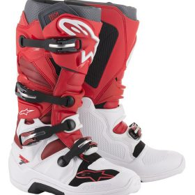 ALPINESTARS CROSSLAARS TECH-7 WIT-ROOD