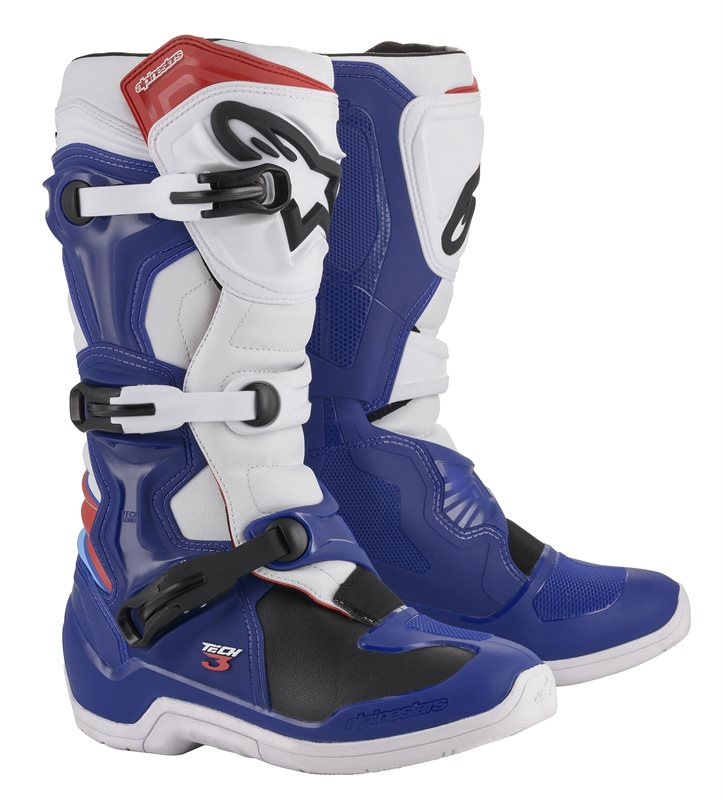 ALPINESTARS CROSSLAARS TECH-3 BLAUW