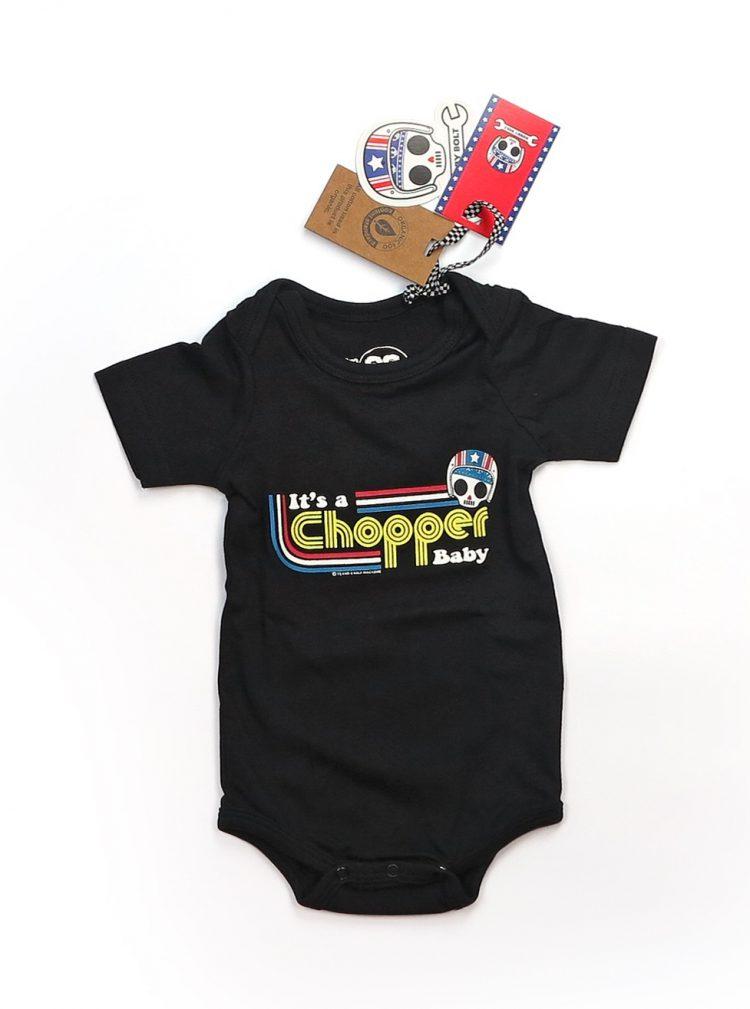 BOBBY BOLT SHIRT KIDS IT'S A CHOPPER BABY