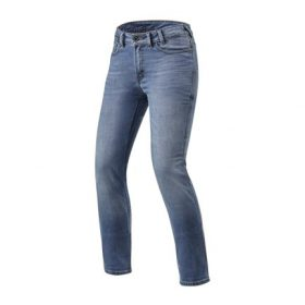 REVIT JEANS VICTORIA LADIES CLASSIC BLAUW USED