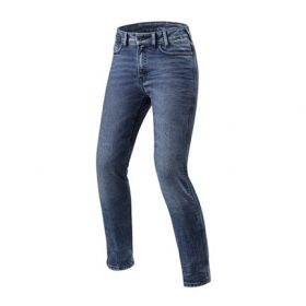 REVIT JEANS VICTORIA LADIES MEDIUM BLAUW