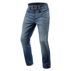REVIT JEANS PISTON MIDDENBLAUW